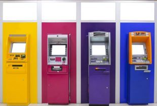 Colorful ATMs